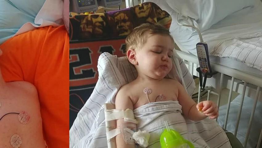Foto: Un copil a stat în comă o săptămână după ce a fost mușcat de o căpușă