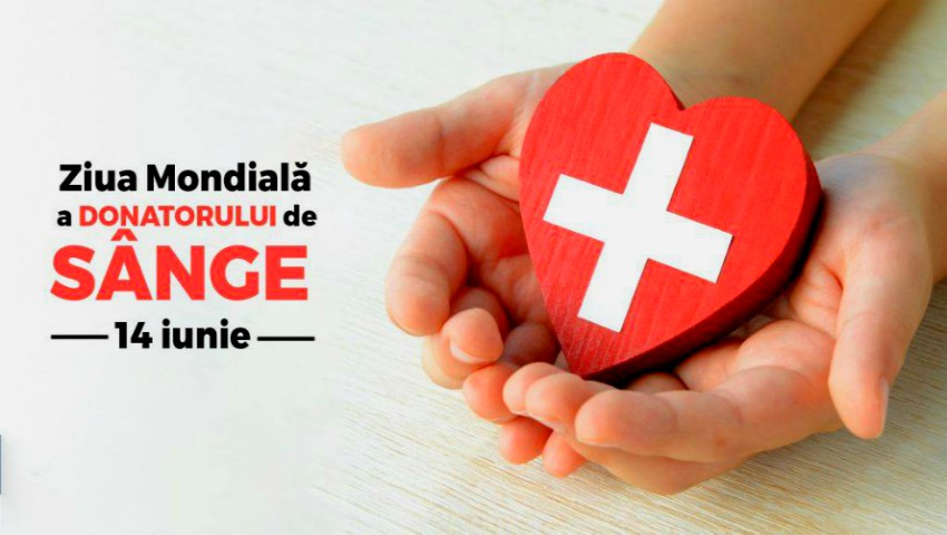 Foto: Astăzi este marcată Ziua Mondială a Donatorului de Sânge! Fii la curent cu informațiile utile și află cum poți salva vieți