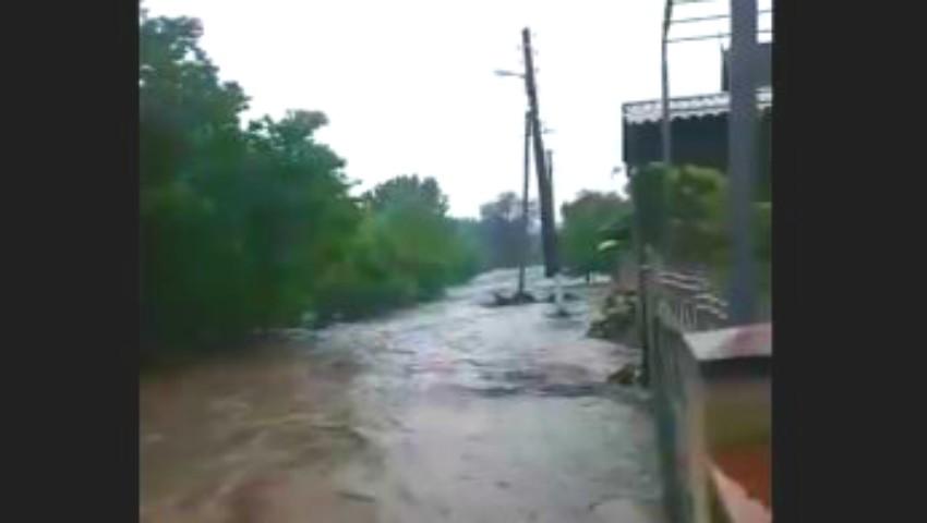 Foto: Satul Copceac, din raionul Ștefan Vodă, luat de ape. Imagini sinistre