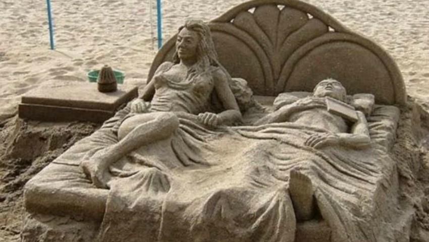 Foto: Sculpturi în nisip. Opere de artă spectaculoase