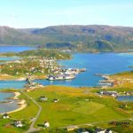 Foto: Într-un oraș din nordul Norvegiei, soarele nu a mai apus de două luni