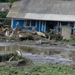 Foto: Case distruse de ploi la Florești. Imagini dureroase