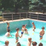 Foto: La o grădiniță din Capitală s-a deschis primul bazin de înot