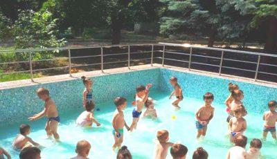 La o grădiniță din Capitală s-a deschis primul bazin de înot