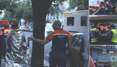 Incendiu puternic în centrul Parisului. Zeci de răniți, cel puțin 3 oameni au murit