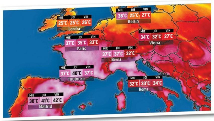 Foto: Zile de foc în Europa. Ce măsuri au luat autoritățile din mai multe țări?