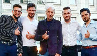 Compozitorul rus Igor Krutoy este noul producător al trupei Brio Sonores