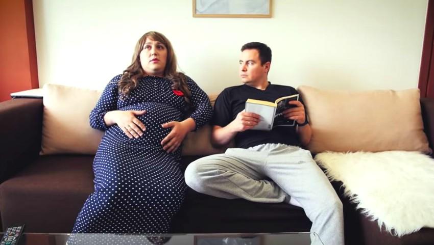 Foto: Băieții de la Comedy Zebra Show au parodiat doi soți care urmează să devină părinți. Video!
