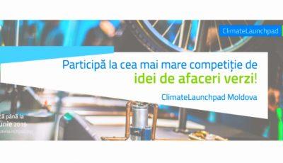 Au fost deschise aplicările pentru Competiția Globală de Idei de Afaceri Verzi! Vrei să ne reprezinți țara la Finala Globală din Amsterdam? Aplică!
