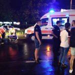 Foto: Doi tineri au fost loviți pe trecerea de pietoni, la Botanica. Băiatul s-a stins pe loc