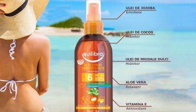 Răsfață-te în această vară și obține un bronz perfect sănătos cu Equilibra Sun