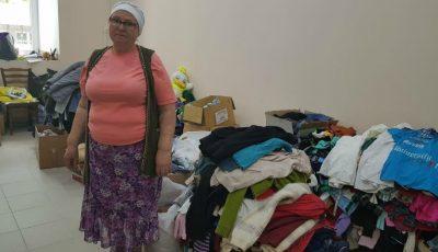 La Biserica USM sunt colectate bunuri pentru persoanele nevoiașe