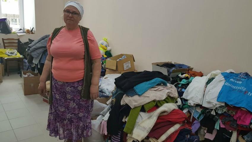 Foto: La Biserica USM sunt colectate bunuri pentru persoanele nevoiașe
