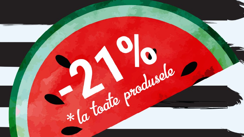 Foto: Cea mai lungă zi – Cele mai mari Reduceri. Top Shop vă oferă -21% REDUCERE la absolut toate produsele și Oferte speciale de până la -60%!