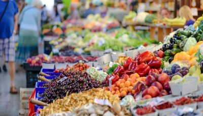"""Prețuri ,,londoneze"""" la fructe și legume în Moldova"""