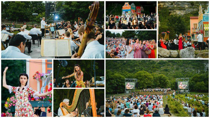 Spectacol și feerie la Orheiul Vechi, în cadrul Festivalului DescOperă! Galerie foto impresionantă!