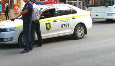 O fetiță din Bălți a fost lovită pe trecerea de pietoni