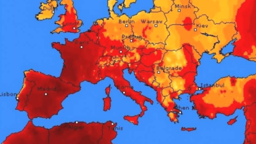 Foto: În Europa vine un val de căldură de +40 de grade Celsius. Se scurtează orele de curs în școli