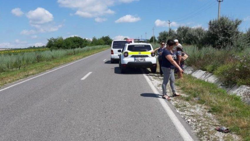 Foto: Un bărbat din raionul Sângerei a fost lovit mortal de o mașină