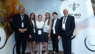 O elevă din Moldova a obținut mențiune de onoare la Olimpiada Internațională de Biologie, desfășurată în Ungaria
