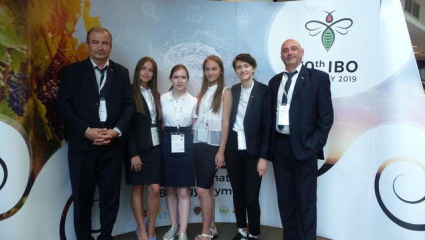 Foto: O elevă din Moldova a obținut mențiune de onoare la Olimpiada Internațională de Biologie, desfășurată în Ungaria