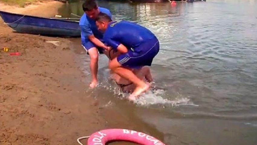 Foto: O tânără din Polonia a fost salvată de la înec din râul Nistru