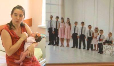 O femeie din capitală a născut cel de-al 11-lea copil, la 40 de ani