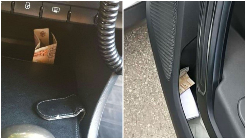Foto: Șoferii moldoveni aruncă disperați bani în mașinele echipajelor de poliție. Nu se poate așa!