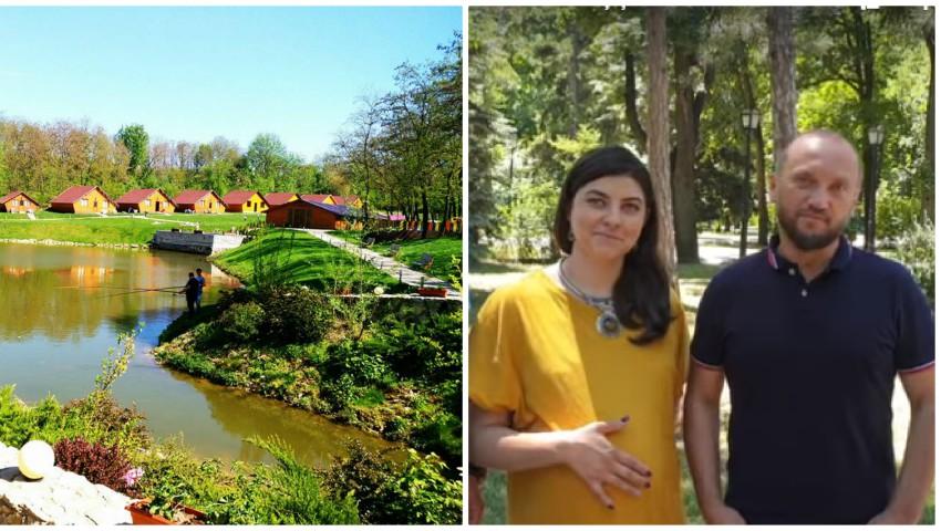 Foto: Oaspeți dragi la Tabăra de Detox cu Galina Tomaș și Dinu Dabija