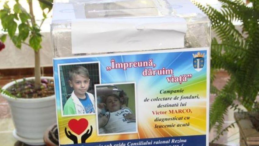 Foto: La doar 10 ani, Victor a fost diagnosticat cu leucemie. Ajută-l să învingă boala!