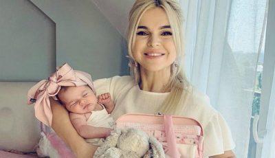 Daniela Ciocanu și-a botezat fetița. Ce dulce e Miranda!