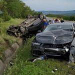 Foto: Accident grav pe traseul Chișinău-Leușeni
