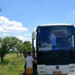 Foto: Momente de groază! Șoferul cursei Chișinău-Brașov și-a pierdut cunoștința la volan