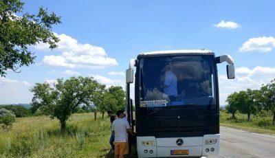 Momente de groază! Șoferul cursei Chișinău-Brașov și-a pierdut cunoștința la volan