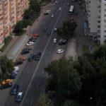 Foto: Un moldovean de 35 de ani a căzut în gol de la etajul unui bloc din Rusia