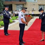 Foto: O tânără absolventă, polițistă de frontieră, a fost cerută în căsătorie la festivitatea de înmânare a diplomelor