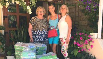 Olia Tira a oferit ajutor pentru micuții aflați la Centrul municipal de plasament din sectorul Botanica