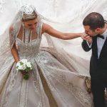 Foto: Designerul Elie Saab și-a însurat fiul și a creat patru rochii de mireasă pentru nora sa
