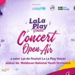 Foto: Moldovan National Youth Orchestra și corul La La Play Voices vă invită la un concert open air extraordinar!