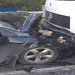 Foto: Accident fatal la Râșcani. Un bărbat de 42 de ani a făcut stop cardiac la volan