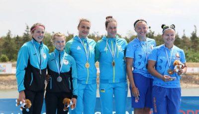 Sportivele din Republica Moldova au câștigat medalia de argint la Campionatul European de canoe