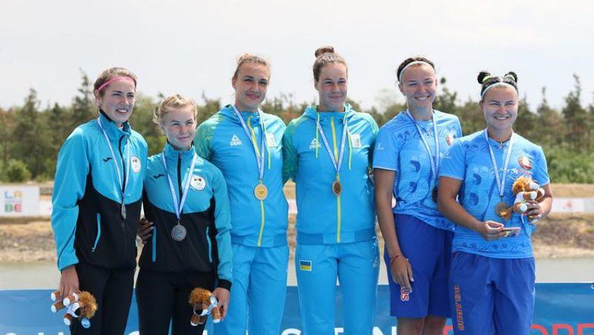Foto: Sportivele din Republica Moldova au câștigat medalia de argint la Campionatul European de canoe