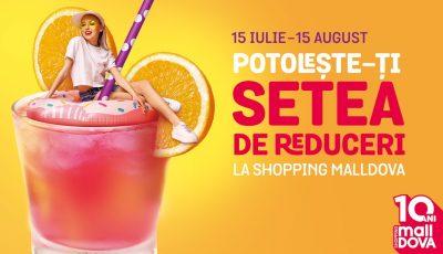 """Potolește-ți setea de reduceri la Shopping MallDova: Ești gata să """"vânezi"""" etichetele roșii?"""