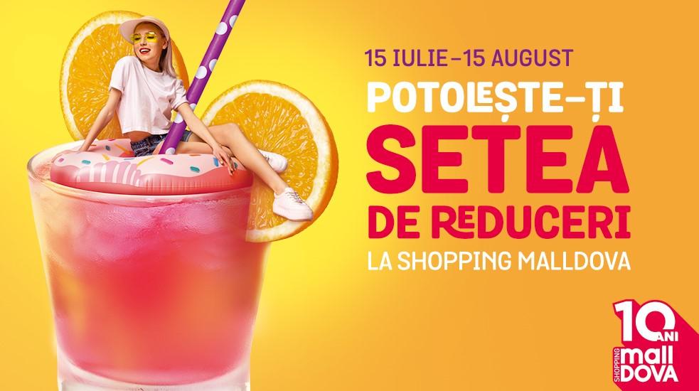 """Foto: Potolește-ți setea de reduceri la Shopping MallDova: Ești gata să """"vânezi"""" etichetele roșii?"""