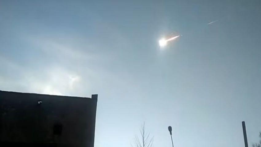 Bubuitură puternică la Iași, provocată de explozia în aer a unui meteorit imens