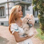 """Foto: Cristina Gheiceanu, despre relația Adelei cu patrupedul casei: ,,Voi cum ați proceda?"""""""