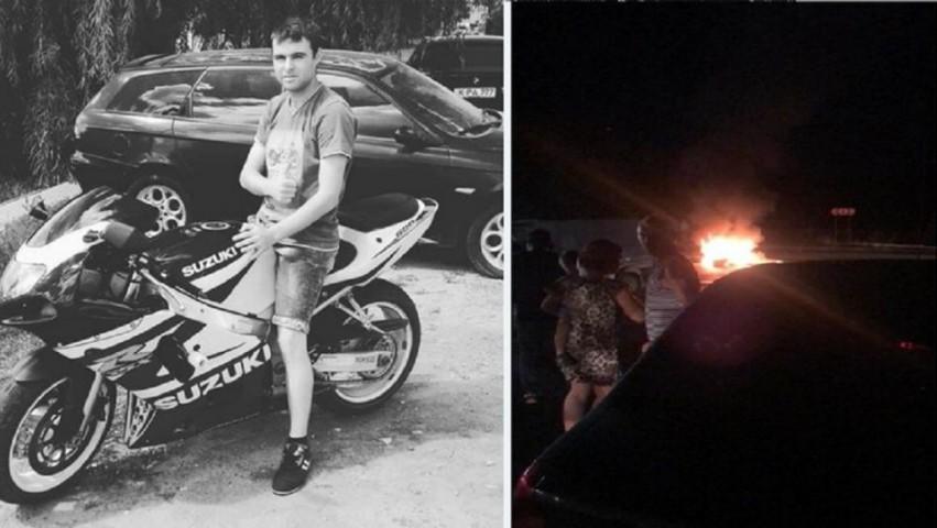 Foto: Tragedie la Ialoveni. Un biker a murit, iar pasagera sa este în stare gravă