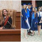 Foto: O tânără din Moldova cu 10 pe linie la Bacalaureat, a fost admisă la Universitatea din Aberdeen, Marea Britanie