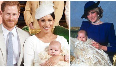 Tributul emoționant adus prințesei Diana de către Harry, la botezul fiului său