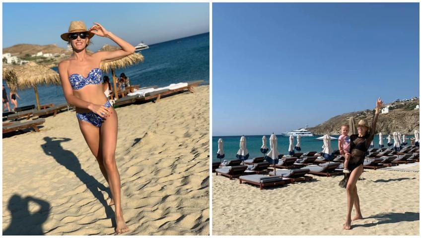 Foto: Tatiana Heghea nu renunță la sport nici în vacanță. Vezi cum face mișcare vedeta!